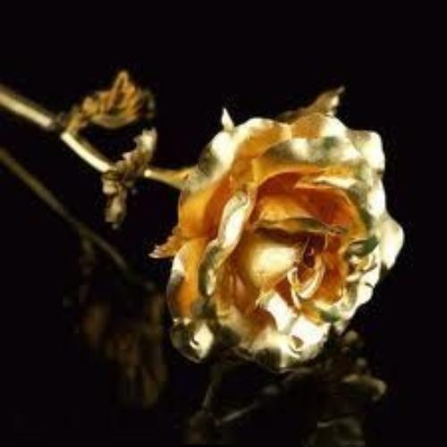Escribir En Foto Imagen de flor dorada 1 - Escribir En Foto Imagen de flor dorada
