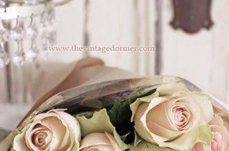 Photo of Escribir En Foto Imagen del ramo de rosas blancas más hermoso para el día de San Valentín