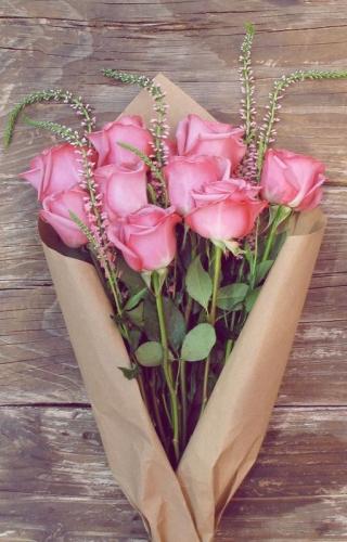 Escribir En Foto Un hermoso ramo de rosas 1 - Escribir En Foto Un hermoso ramo de rosas