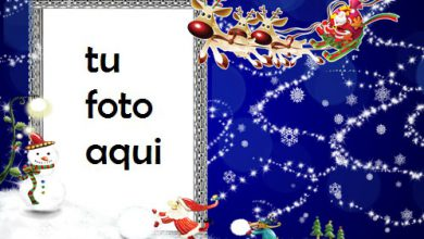 Photo of Espíritu De Navidad Y Año Nuevo Marco Para Foto