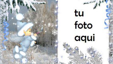 Fantasía De Invierno Marco Para Foto 390x220 - Fantasía De Invierno Marco Para Foto