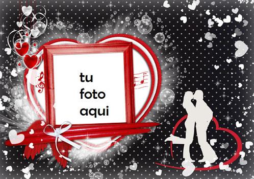 Febrero Es El Mes De San Valentín Marco Para Foto - Febrero Es El Mes De San Valentín Marco Para Foto