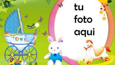 Photo of Felicidades Al Nuevo Niño Marcos Para Foto