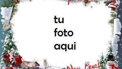 Feliz Año Nuevo Comienzo Marco Para Foto 390x220 - Feliz Año Nuevo Comienzo Marco Para Foto