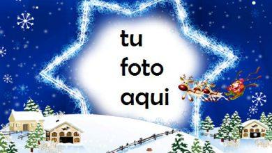 Photo of Feliz Año Nuevo, Estrella Marco Para Foto