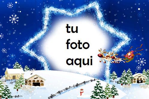 Feliz Año Nuevo Estrella Marco Para Foto - Feliz Año Nuevo, Estrella Marco Para Foto