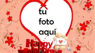 Feliz Día De San Valentin 2 Marco Para Foto 390x220 - Feliz Día De San Valentin 2 Marco Para Foto