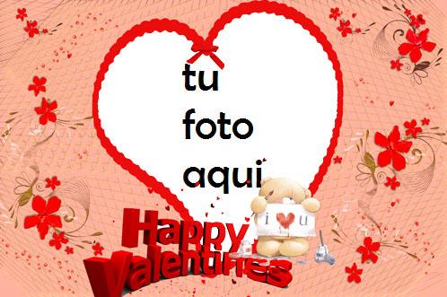 Feliz Día De San Valentin 2 Marco Para Foto - Feliz Día De San Valentin 2 Marco Para Foto