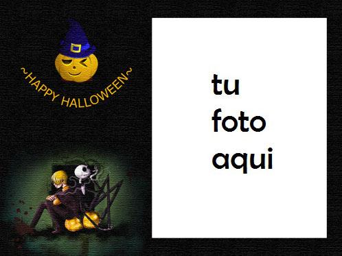 Feliz Halloween Para Usted Marco Para Foto - Feliz Halloween Para Usted Marco Para Foto