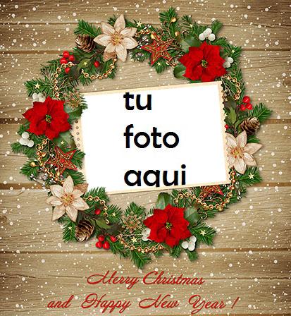 Feliz Navidad Y Próspero Año Nuevo Hermosas Felicitaciones Marco Para Foto - Feliz Navidad Y Próspero Año Nuevo Hermosas Felicitaciones Marco Para Foto