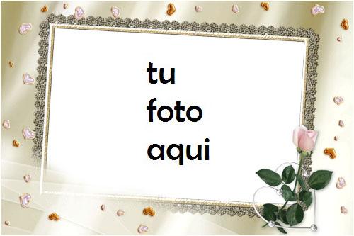 Flor De Amor Matrimonio Y Compromiso Marco Para Foto - Flor De Amor Matrimonio Y Compromiso Marco Para Foto