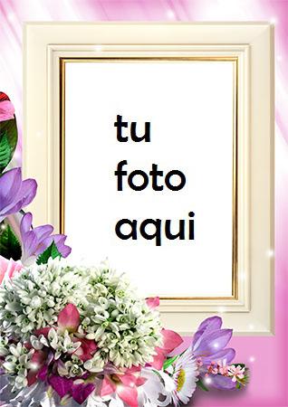 Flores romanticas muy hermosas Marco Para Foto - Flores romanticas muy hermosas Marco Para Foto
