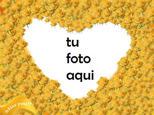 Flores y flores de abedul hermosa forma de corazón Marco Para Foto - Flores y flores de abedul hermosa forma de corazón Marco Para Foto