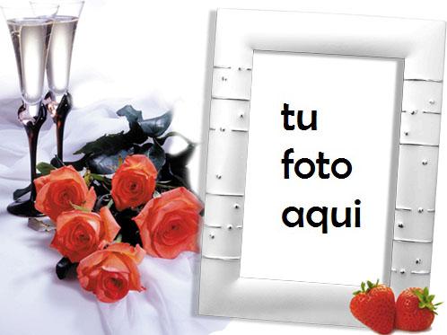 Fresas Marco Para Foto - Fresas Marco Para Foto