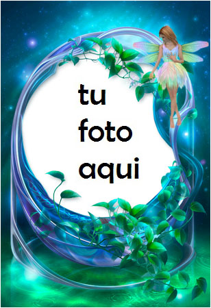 Hadas Azules Marcos Para Foto - Hadas Azules Marcos Para Foto
