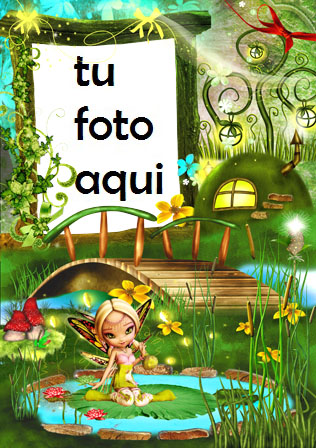 Hadas Tierra Verde Marcos Para Foto - Hadas Tierra Verde Marcos Para Foto