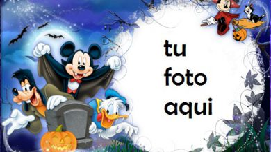 Photo of Halloween Con Mickey Y Sus Amigos Marco Para Foto