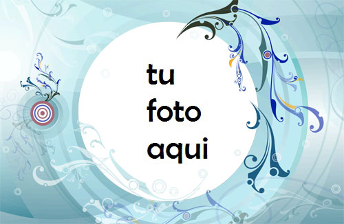 Hermosa Agua Azul Marco Para Foto - Hermosa Agua Azul Marco Para Foto