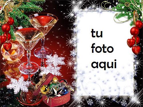 Hermosas Decoraciones Y Decoración De Nochevieja Marco Para Foto - Hermosas Decoraciones Y Decoración De Nochevieja Marco Para Foto