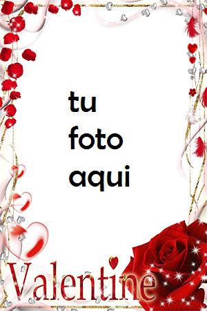 Hermoso Día De San Valentín Para Todos Los Seres Queridos. Marco Para Foto - Hermoso Día De San Valentín Para Todos Los Seres Queridos. Marco Para Foto