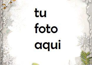 Photo of Invierno Tocando La Puerta Marco Para Foto