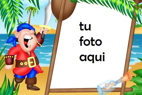 Isla De Mares Y Tesoros Marcos Para Foto - Isla De Mares Y Tesoros Marcos Para Foto