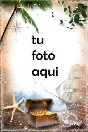 Isla Del Tesoro Marco Para Foto - Isla Del Tesoro Marco Para Foto