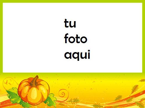 La Calabaza Como Uno De Los Símbolos De Halloween Marco Para Foto - La Calabaza Como Uno De Los Símbolos De Halloween Marco Para Foto