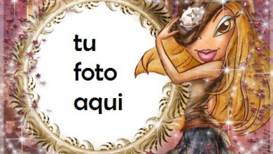 Photo of La Chica Traviesa Marco Para Foto