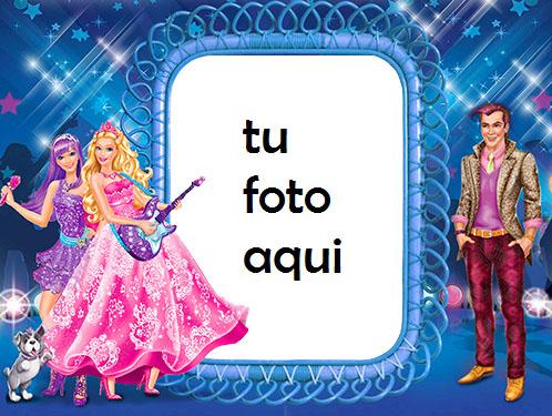 La Linda Familia De Barbie Marcos Para Foto - La Linda Familia De Barbie Marcos Para Foto