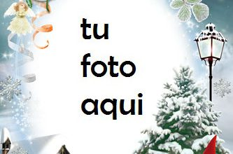 La Magia De La Navidad Marco Para Foto 333x220 - La Magia De La Navidad Marco Para Foto