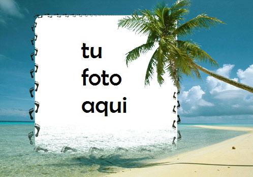 La Orilla Del Mar Marco Para Foto - La Orilla Del Mar Marco Para Foto
