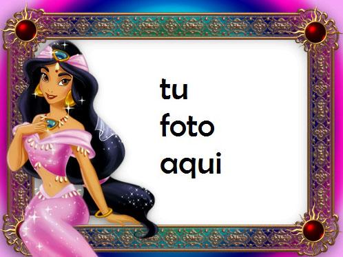 La Princesa Jazmín Y Aladdin Marcos Para Foto - La Princesa Jazmín Y Aladdin Marcos Para Foto