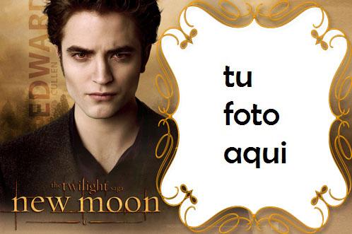 La Saga Crepúsculo Edward Cullen Marco Para Foto - La Saga Crepúsculo Edward Cullen Marco Para Foto