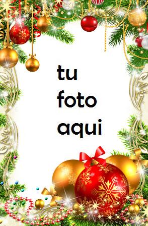 Las Campanas Doradas Más Bellas Y Decoraciones Rojas Año Nuevo Marco Para Foto - Las Campanas Doradas Más Bellas Y Decoraciones Rojas Año Nuevo Marco Para Foto