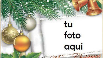 Photo of Le Deseamos Una Feliz Navidad Marco Para Foto