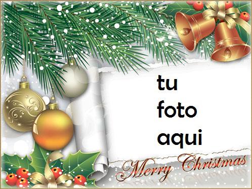Le Deseamos Una Feliz Navidad Marco Para Foto - Le Deseamos Una Feliz Navidad Marco Para Foto