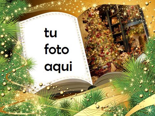 Libro De Año Nuevo Marco Para Foto - Libro De Año Nuevo Marco Para Foto