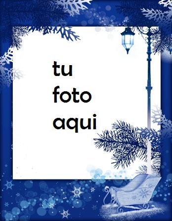 Magia De Invierno Marco Para Foto - Magia De Invierno Marco Para Foto
