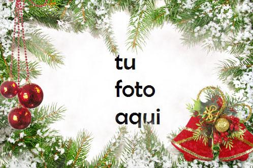 Marco De Bolas Rojas Y Decoraciones Verdes Para La Víspera De Año Nuevo Marco Para Foto - Marco De Bolas Rojas Y Decoraciones Verdes Para La Víspera De Año Nuevo Marco Para Foto