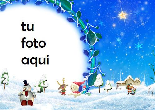 Marco De Muñeco De Nieve Muy Hermoso Año Nuevo Marco Para Foto - Marco De Muñeco De Nieve Muy Hermoso Año Nuevo Marco Para Foto