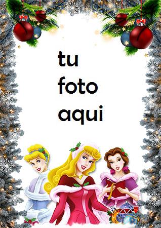 Marco De Princesas Saludos De Año Nuevo Marco Para Foto - Marco De Princesas Saludos De Año Nuevo Marco Para Foto