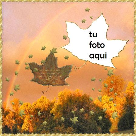Marco Para Foto Paisaje de otoño Otoño Marcos - Marco Para Foto Paisaje de otoño Otoño Marcos