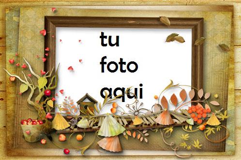 Marco Para Foto Retrato de otoño Otoño Marcos - Marco Para Foto Retrato de otoño Otoño Marcos