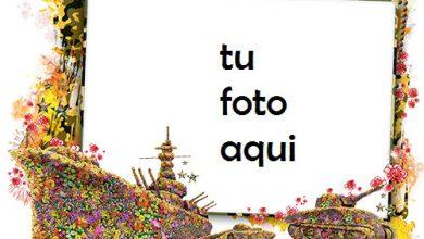 Photo of Marco Para Foto defensor floral del ejército de la patria Otoño Marcos