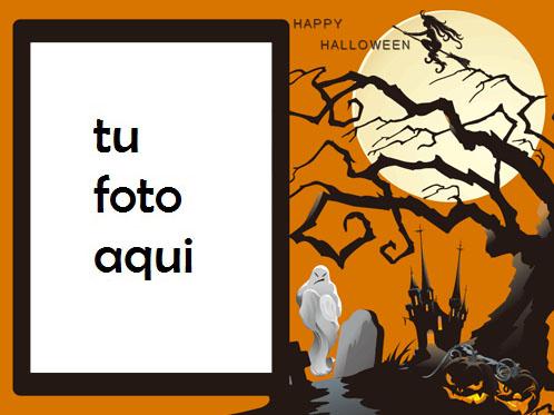 Mis Halloweens Felices Cuando Me Asusto Contigo Marco Para Foto - Mis Halloweens Felices Cuando Me Asusto Contigo Marco Para Foto
