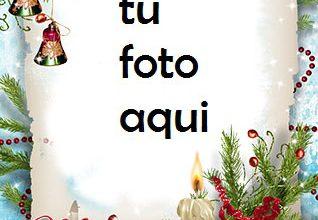 Photo of Navidad Con Maravillosa Decoración Marco Para Foto