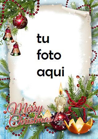 Navidad Con Maravillosa Decoración Marco Para Foto - Navidad Con Maravillosa Decoración Marco Para Foto
