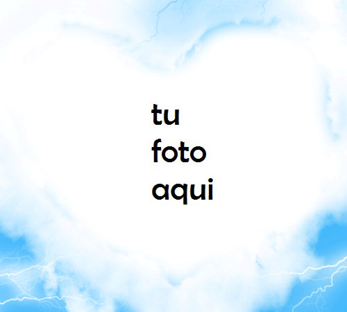 Nubes De Amor Marco Para Foto - Nubes De Amor Marco Para Foto