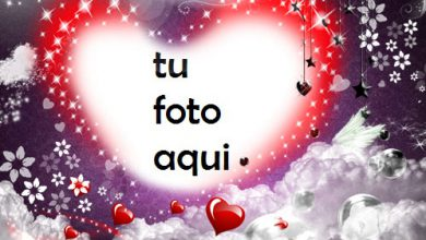Nuestro Gran Amor Con Un Hermoso Corazón Rojo Romántico Marco Para Foto 390x220 - Nuestro Gran Amor Con Un Hermoso Corazón Rojo Romántico Marco Para Foto